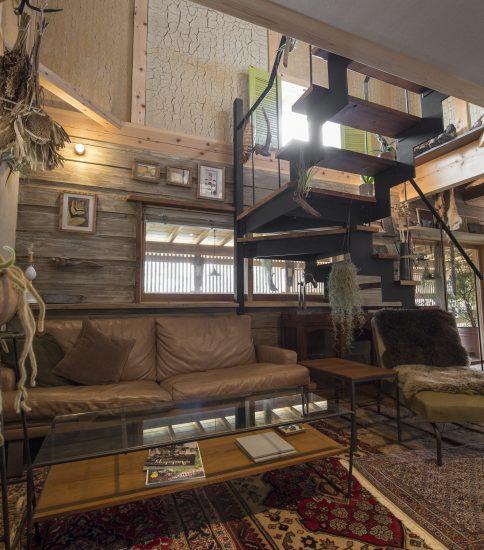 七里ガ浜の住宅